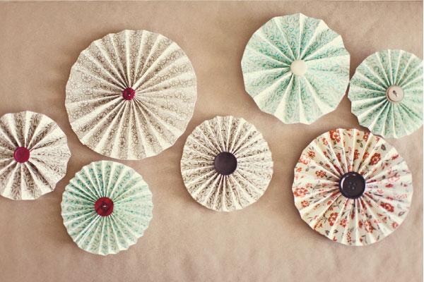Easy Paper Pinwheels