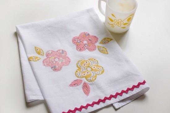 perfect hostess gift applique tea towels brit co
