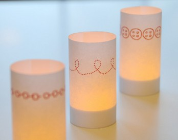 DIY Candle Wraps