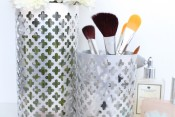 DIY Aluminum Utensil Holders