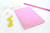 Gold Leaf Nocturnal Journal