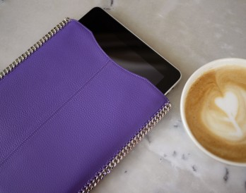Rock Your Tech! Make a Chain-Trimmed iPad Case