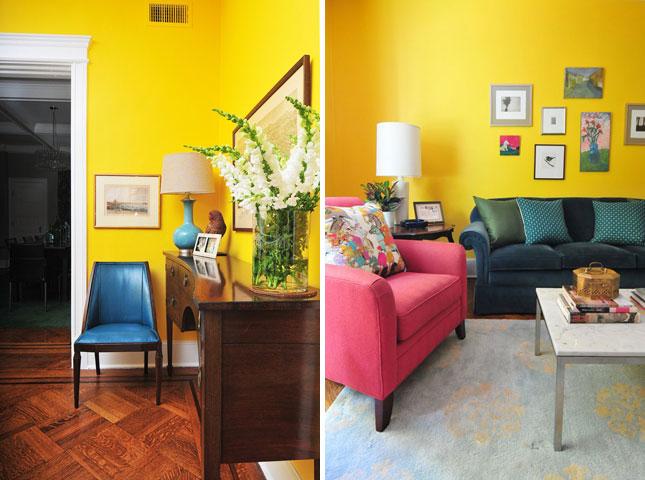 15 Inspiring Color Blocked Interiors Brit Co