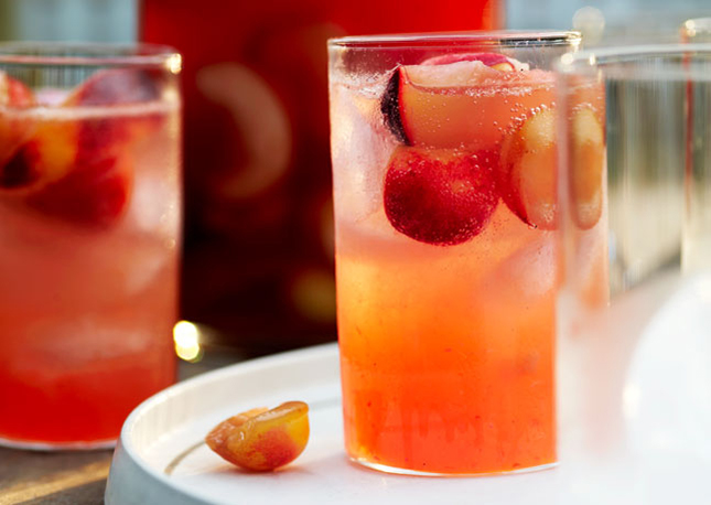Stone-Fruit Sangria : Not only does this sangria have stone fruits ...