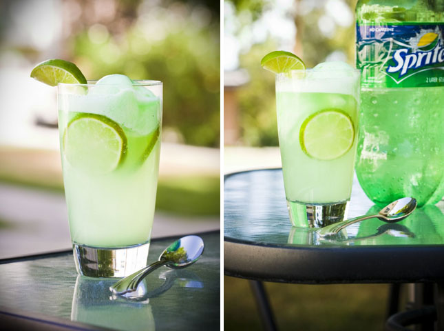 19. Lime Sherbet Float : Lime sherbet and sprite is all you need to ...