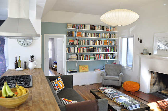 25 Bright Ideas For Incorporating Open Shelves Into Your Space