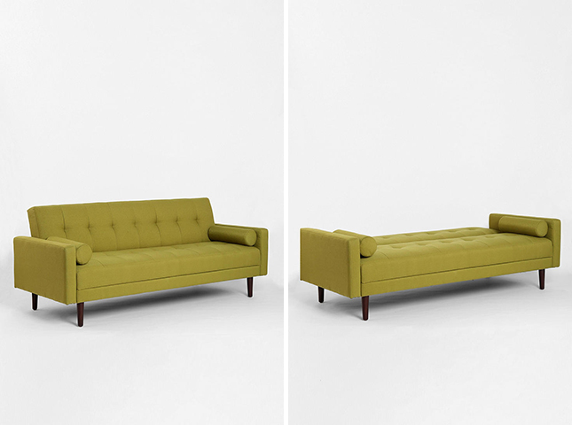 10 sleeper sofas that don t suck brit co for Capitola convertible chaise