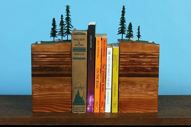 22 Bookends To Keep Your Books In Line Brit Co