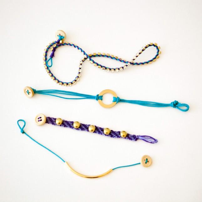 Handmade friendship bracelets for girls