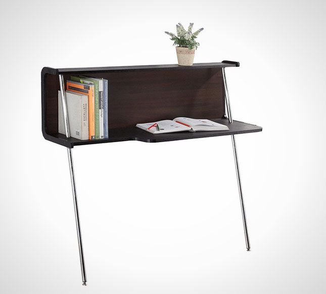 Space Saver 22 Wall Mounted Desks To Buy Or Diy Brit Co