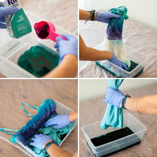 Покрасить кружево в домашних условиях