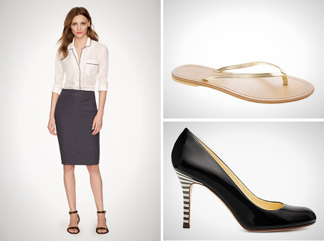 Go to Great Heights, or Stick with Flats? How to Pair Skirts and ...
