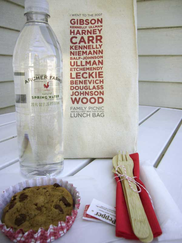 Personalized Lunch Bag Party Favors | Brit + Co.