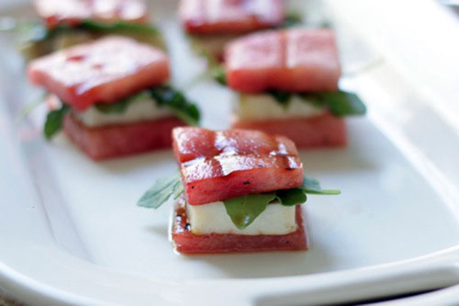 Watermelon Grilled Cheese