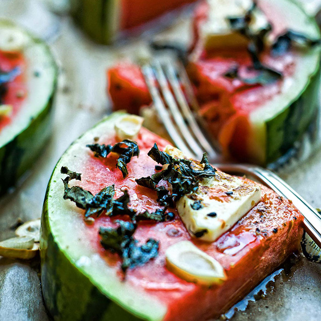 Spicy Watermelons Slices
