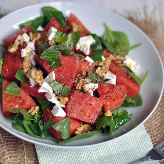 Watermelon Ricotta Salata