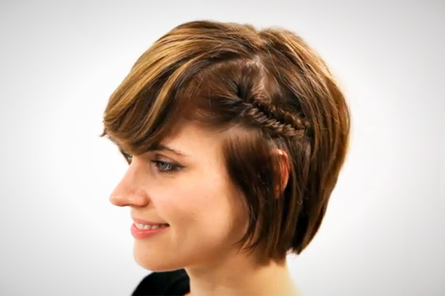 5 Short hair styling hacks / Taking care of a short hairstyle is really easy with our top 5 styling hacks! As with all lengths, a short hairstyle requires certain tricks and techniques to keep it looking just the way you want it. Below, you'll find five easy hacks to make maintaining and styling your short cut as easy as possible.