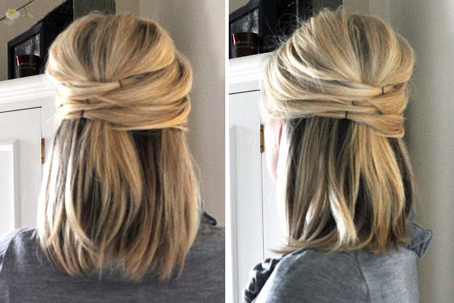 Прически на повседневку короткие волосы