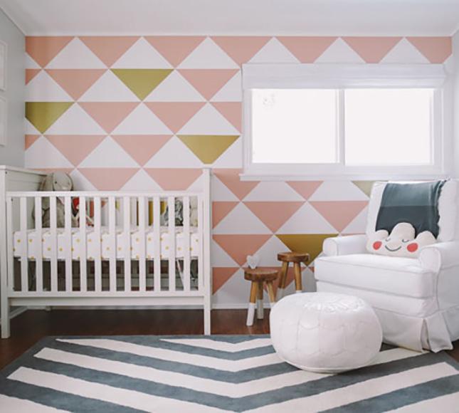 Modern Nursery Wallpaper: 25 Creative And Modern Nursery Design Ideas