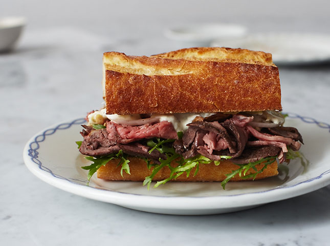 13. The Perfect Roast Beef Sandwich : Now that weekends are filled ...