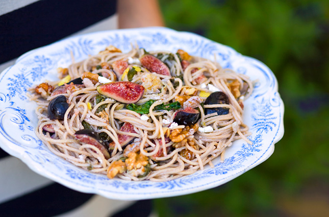 16. Fig and Walnut Spaghetti : Once again, figs and walnuts! This time ...