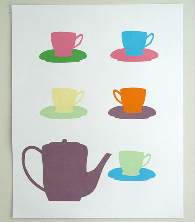 6 teacup for 100 creative drawing ideas