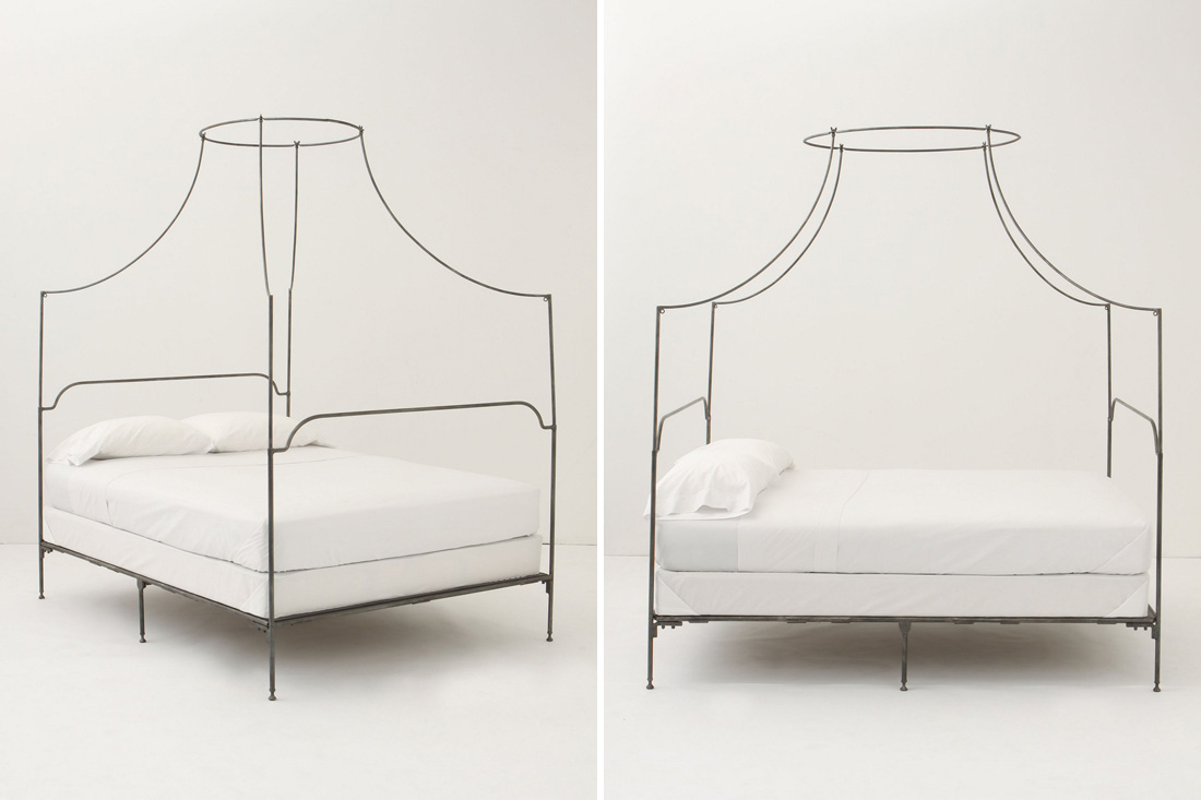 Sweet dreams 10 beautiful bed frames brit co - Canopy bed without frame ...