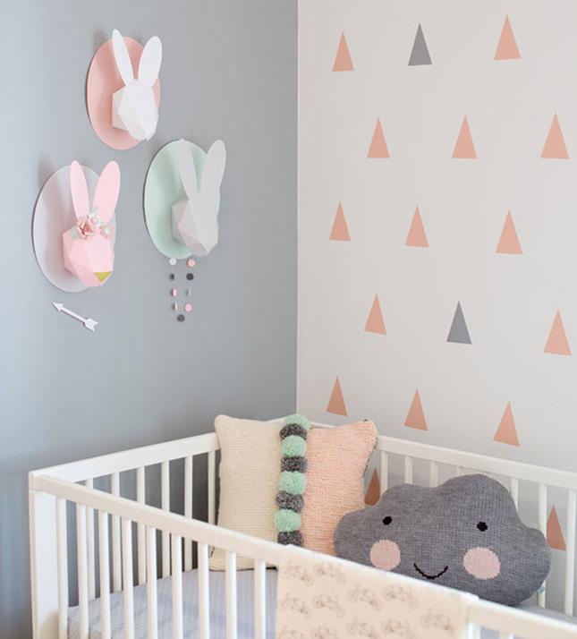 Creative Ideas For Nursery Room Decoration With Birds Home