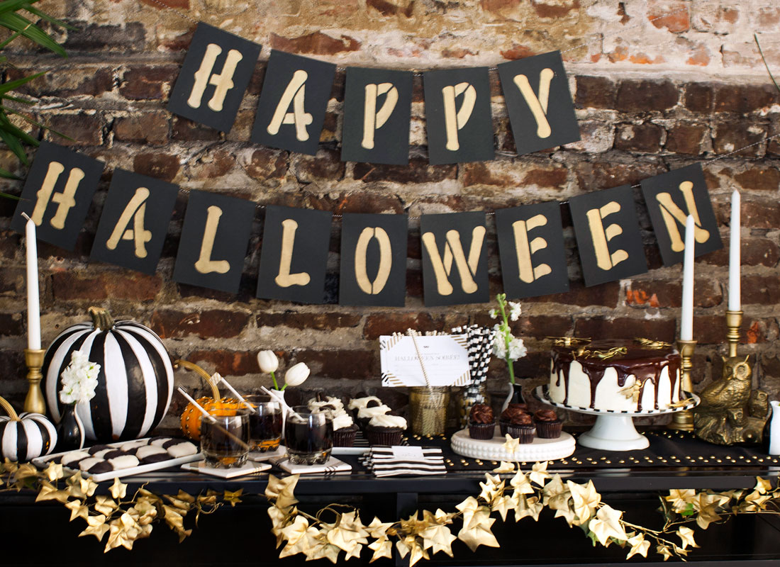 what will your halloween - Black And White Halloween Party