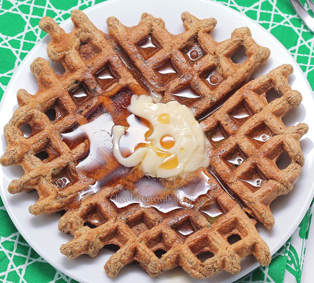 10. Gluten-Free Cinnamon Sugar Waffles : If you or your friends are ...
