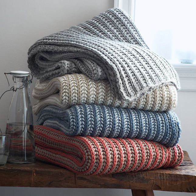 15 Throw Blankets We Want to Curl Up With Brit + Co