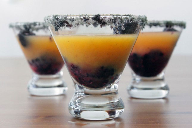 19. Black and Orange Rum Punch : Created as an ode to the San ...