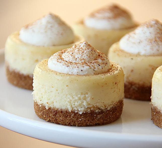 Eggnog Cheesecake Recipe — Dishmaps