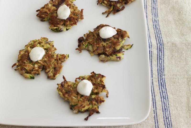 Latkes : Cajun seasoning gives these five-ingredient zucchini latkes ...