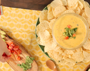 Turn Your Turkey Day Leftovers into Roasted Turkey Queso