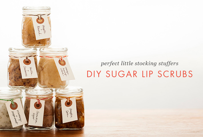 Pucker Up For Winter With DIY Sugar Lip Scrubs