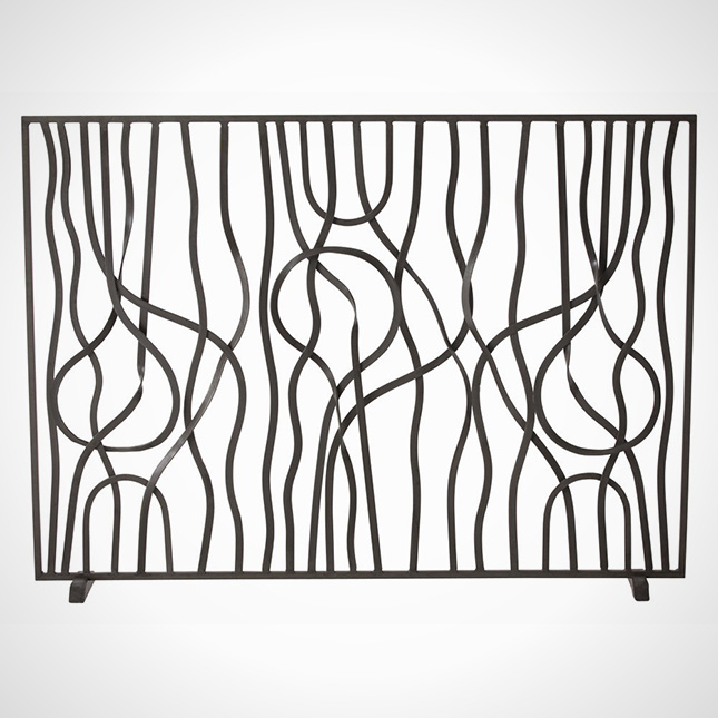 Fireplace Screen Modern ... - Fireplace Screen Fireplace Designs One Of 5 Total Pics