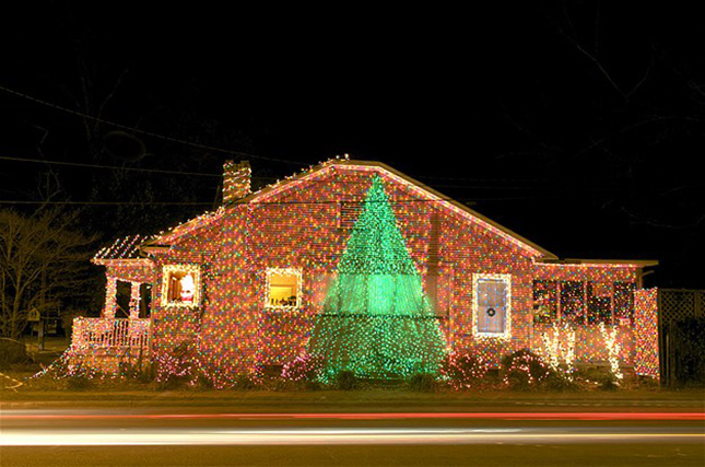 Crazy Christmas Lights: 15 Extremely Over-the-Top Outdoor Displays Brit + Co