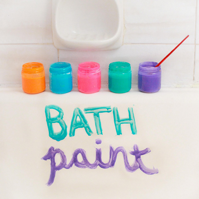 28 bath paint make bath time fun for creative kids with these
