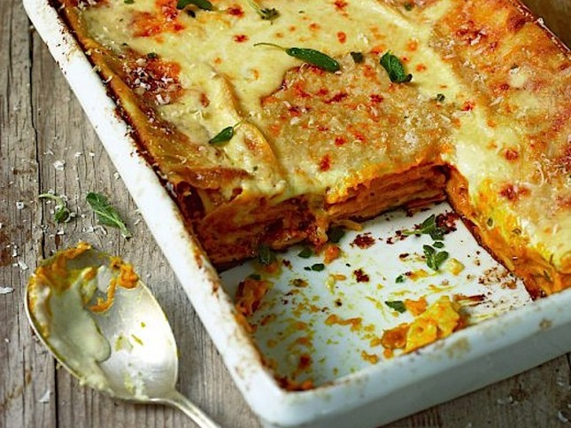 10. Roasted Butternut Squash Lasagna : Layers upon layers of squash ...