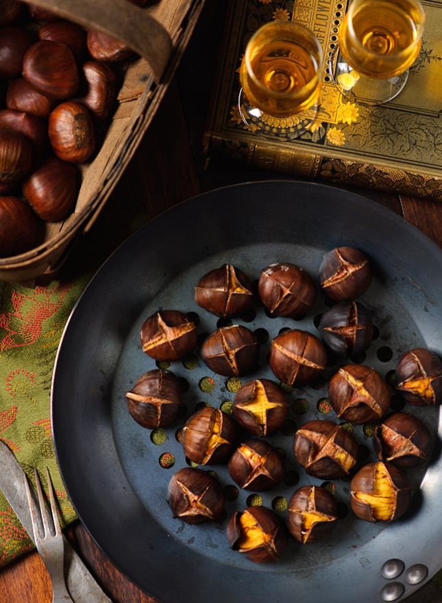Roasted Chestnuts : Sure, you can buy prepared chestnuts if you'd ...