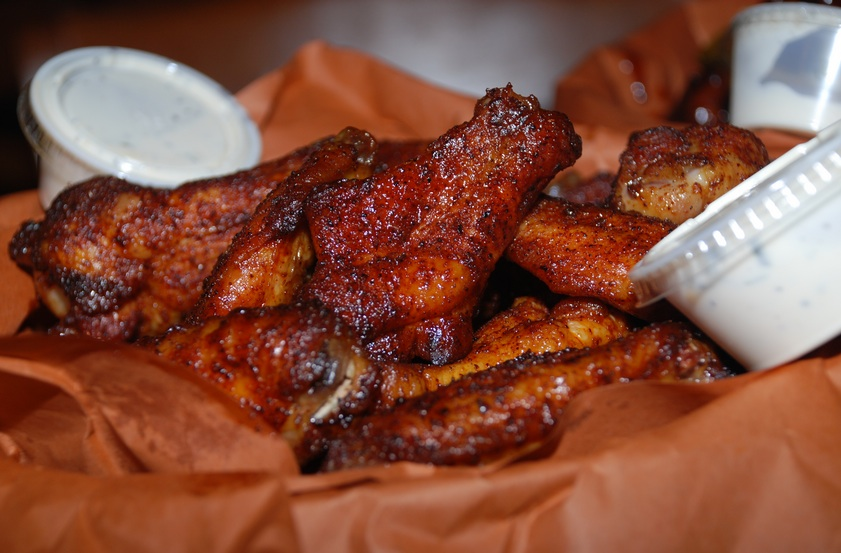 20. Hill Country's Pit Smoked Chili Rubbed Chicken Wings : Now, this ...