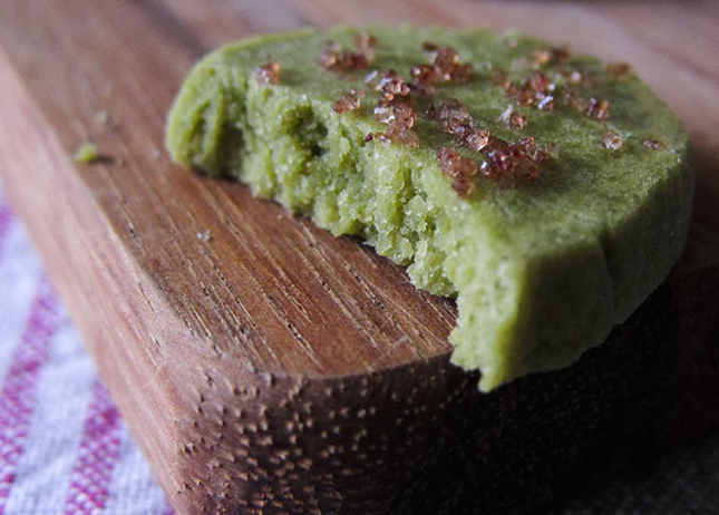 Matcha Tea Leaf Shortbreads Recipes — Dishmaps
