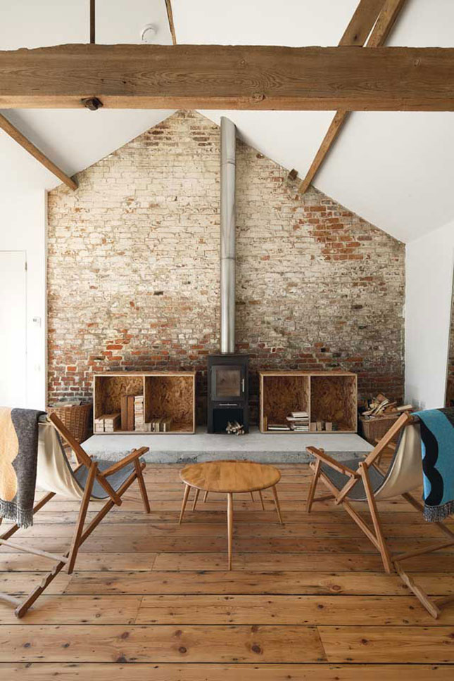 Rustic Midcentury Modern Barn Conversion Oh What A Fabulous Idea To Bring In Furniture Into Its So On Trend