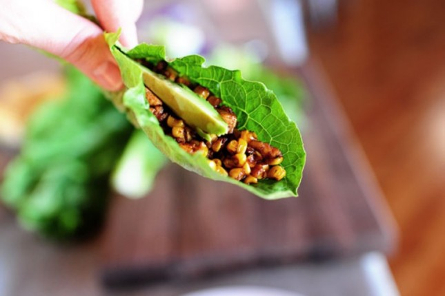 12. Lettuce Wraps : Lettuce wraps are a great way to get your protein ...