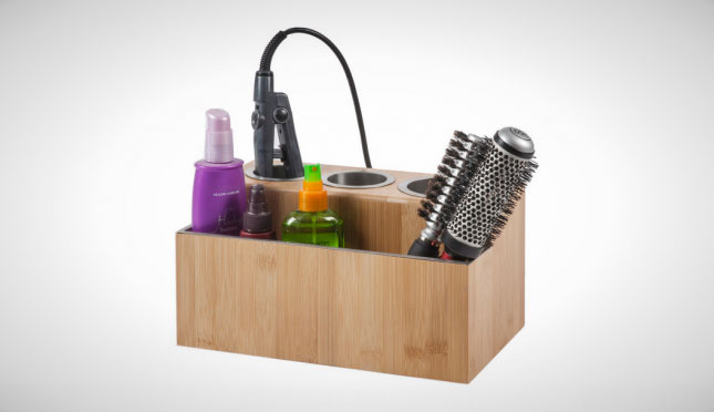 Hair Styling Station: Your Tiny Bathroom Is Now Huge: 20 Space Savers To Buy Or