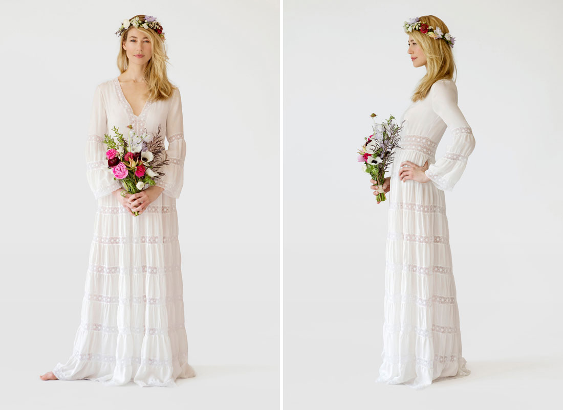 Mexican Cotton Wedding Dress - Missy Dress