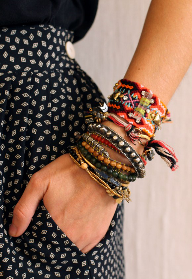 Stack 'em Up! 19 Bracelets to Add to Your Arm Party | Brit ...
