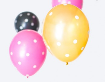 Make Polka Dot Balloons in Under 1 Minute!