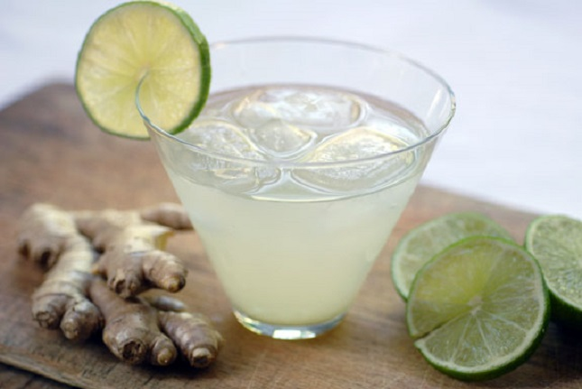 Ginger Lime Mocktail : Yeah, it's zesty, and you'll know that ...